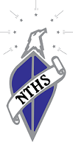 Logo for the Student Organization National Technical Honour Society (NTHS)