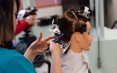 "Picture representing ""Cosmetology"" at CCTE."