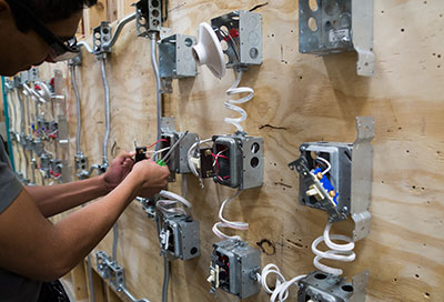 "Picture representing ""Electrical Trades"" at CCTE."