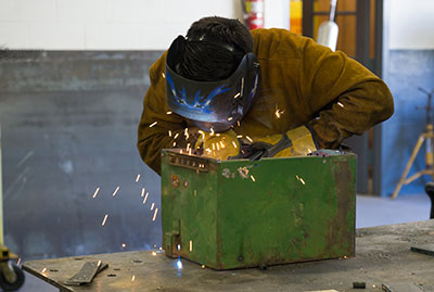 "Picture representing ""Metal Trades (Welding)"" at CCTE."